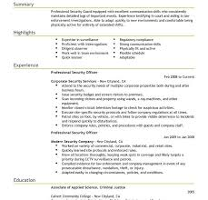 Compliance Officer Resume Sample by Interesting Design Ideas Security Resume Sample 15 Best