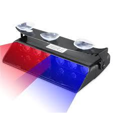 nissan versa dashboard lights not working amazon com emergency dash lights 6w red blue led warning strobe
