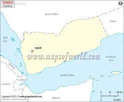 where is yemen on the map yemen map travel map travelquaz com