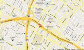 map of downtown los angeles nine injured in downtown blue line collision with car l a now