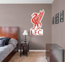 Livingroom Liverpool by Official Liverpool Fc Logo Fathead