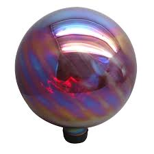 Glow In The Dark Gazing Ball Shop Gazing Balls U0026 Stands At Lowes Com
