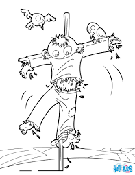 scarecrow coloring pages 16 printables to color online for halloween