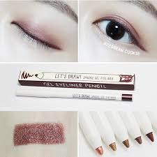 light brown gel eyeliner korea abbamart waterproof eyeliner gel pen for beginners eye shadow