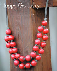 wood beads necklace designs images Pinterest inspired jewelry easy necklace tutorial happy go lucky jpg