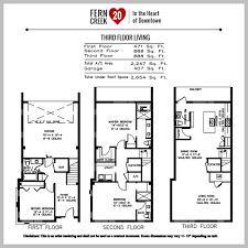 hvac floor plan plans u0026 specs u2014 fern creek 20 downtown orlando townhomes