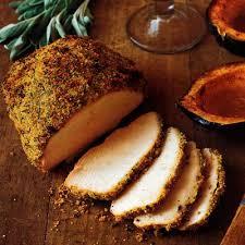 turkey breast with mustard crumbs roast turkey recipes