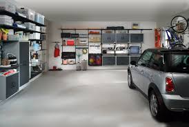 garage storage organized garage storage shelves design