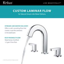 8 Bathroom Faucet by Discontinued Kraus Ino Two Handle 8 Inch Widespread Bathroom