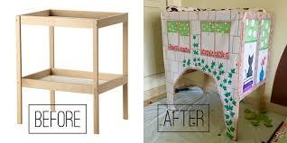 Sniglar Change Table How To Convert Ikea Sniglar Changing Table Into A Play House