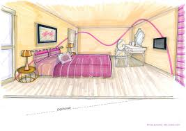 chambre boudoir relooking chambre boudoir fééerique 77 pinkspace clain