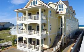 outer banks beach rentals with elevator carolina designs