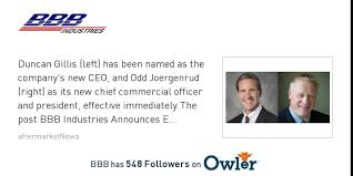 bbb news duncan gillis joined as ceo