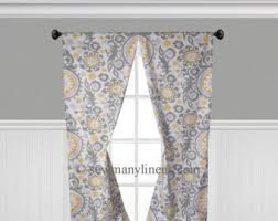 Yellow And Purple Curtains Purple Curtains Etsy