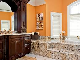 orange bathroom ideas fabulous orange bathroom at daecfbbacbfeca orange bathroom paint