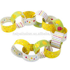Easter Decorations Paper by The Great Easter Egg Hunt Paper Chains For Easter Decorations