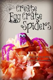 halloween crate the ever cr after diy egg crate spiders for spooky halloween