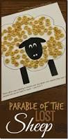 free parable lost sheep printable craft free homeschool