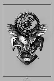 mechanic tattoo drawing best 25 gear tattoo ideas on pinterest clockwork tattoo
