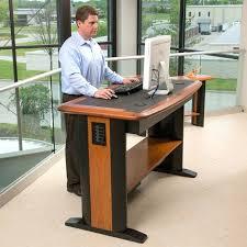 Standing Desk Desk Adjustable Height Standing Computer Desk Sitting All Day