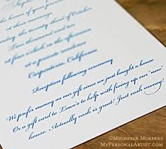 money registry for wedding can i add a gift registry card to my wedding invitations