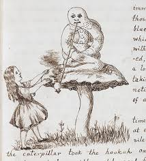 alice wonderland original illustrations british library