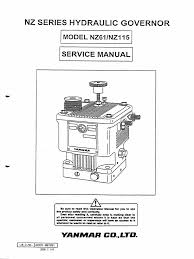 nz governor valve piston
