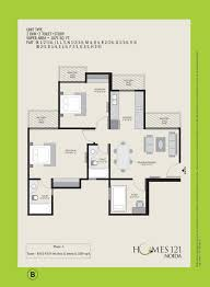 Floor Plan Homes Homes 121 Apartment Floor Plan Noida Extension