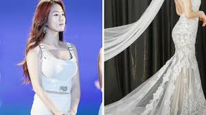 wedding dress daily soyou looks absolutely stunning in a wedding dress daily k pop news