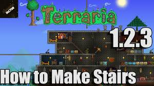 Home Design 3d How To Make An Upstairs How To Make Stairs Terraria 1 2 3 Terraria 1 2 3 Gameplay Youtube
