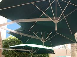 Wall Mounted Shade Umbrella by Luxury Umbrellas Paraflex Duo Wallflex Foot Push Lift Tilt Patio