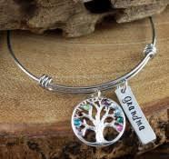 Personalized Bangle Bracelets Bangle Bracelets Bracelets At Sweet Blossom Gifts