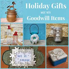 crafting christmas gifts with goodwill finds morena u0027s corner