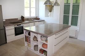cuisine béton ciré plans de travail béton ciré entreprise les ateliers de vérone