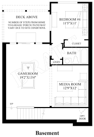 basement design plans at inglewood hill the signature quick delivery home