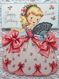 475 best doll cards images on pinterest greeting cards vintage