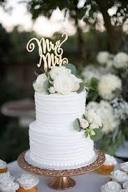 wedding cake rustic two tier white rustic wedding cake wedding ideas
