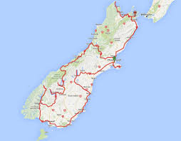 New Zealand And Australia Map New Zealand Exploring The South Island U2013 Every Day Is A Saturday