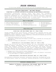 Sample Resumes For Accounting by Accounts Receivable Resume Sample Template Design