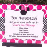 free printable minnie mouse invitations template orax