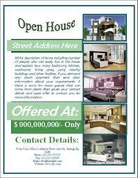 invitation flyer templates free 34 spectacular open house flyers psd u0026 word templates demplates