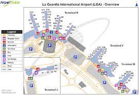 Map Of New York Airports by New York Laguardia Lga Airport Terminal Maps Travelwidget Com