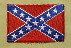 Flag Confederate States Of America Confederate Naval Jack Battleflag Patch Confederate Shop