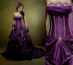 purple wedding dresses beautiful black and purple wedding dresses naf dresses black and