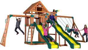 outdoor heartland sheds swing sets lowes swings for toddlers