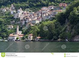 Lake Como Italy Map The Village Of Careno At Lake Como Italy Stock Photos Image