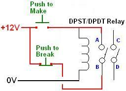 special applications with spdt relays and latching relay wiring