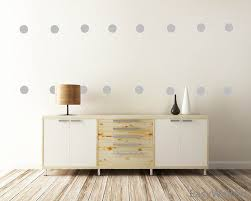 classy home interiors other category simple but elegant polka dot wall decor for any