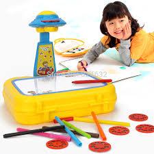 Drawing Desk Kids Multifunctional Children Projector Drawing Board Kids Drawing Set