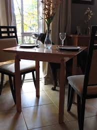 Table For Small Kitchen by Small Dining Room Table Big On Style But Small In Stature This